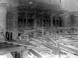 Picture relating to Parliament House - titled 'Old Parliament House chamber under construction'
