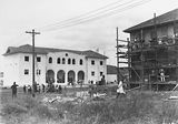 Picture of / about 'Manuka' the Australian Capital Territory - St Christopher's Convent, Franklin Street, Manuka - under construction.