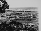 Picture relating to Manuka - titled 'View from Red Hill over Manuka and Kingston to Duntroon. Collins Park in front.'