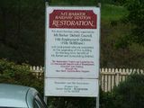 Picture of / about 'Mount Barker' South Australia - Mount Barker Railway Station Restoration Information Sign
