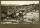 Picture relating to Mount Isa - titled 'Tailings storage dam, Mt. Isa Mines, 1932'