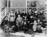 Picture relating to Bundaberg - titled 'Family of Gustav Alfonso Steindl, Bundaberg, ca. 1900'