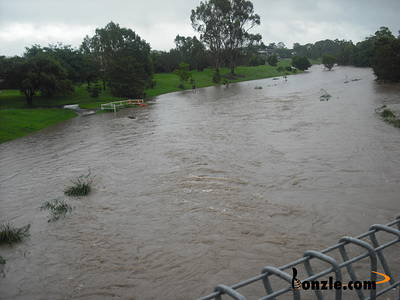 Picture of / about 'Grange' Queensland - Grange Kedron Brook floodS in Jan 2011