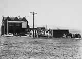 Picture relating to Red Hill - titled 'Church of England Boys Grammar School, Flinders Way, Red Hill. Construction of headmasters residence.'