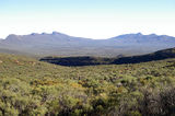 Picture relating to Chichester Range - titled 'Panoramic View inside Wilpena Pound'