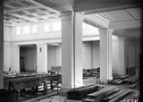 Picture relating to Parliament House - titled 'Old Parliament House Kings Hall, under construction.'