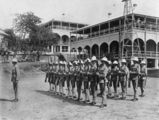 Picture relating to Thursday Island - titled 'Military Barracks on Thursday Island, ca. 1917'