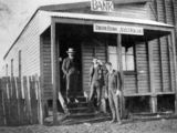 Picture relating to Kingaroy - titled 'Union Bank of Australia, Kingaroy, ca. 1907'