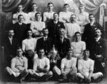 Picture relating to Dinmore - titled 'Dinmore Bush Rats Football Club, 1909'