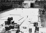 Picture of / about 'Manuka' the Australian Capital Territory - Manuka swimming pool under construction, floor of the pool being placed, Manuka Circle, Kingston.