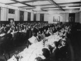 Picture relating to Charleville - titled 'Conference at the Corones Hotel, Charleville, 1927'