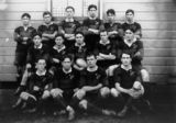 Picture relating to Sydney - titled 'New Zealand Rugby League Team, 1913'