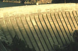 Picture relating to Lake Burrinjuck - titled 'Burrinjuck Dam Wall'