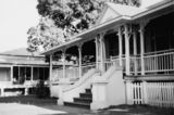 Picture relating to North Ward - titled 'Early residences in Townsville ca. 1955'