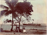 Picture relating to Thursday Island - titled 'Thursday Island - SS (Steam Ship) Empire and jetty'