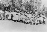 Picture relating to Boulia - titled 'Picnic at the Burke River, Boulia 1921'
