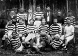 Picture relating to Kandanga - titled 'Rugby League team from Kandanga, ca. 1919'