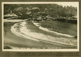 Picture relating to Magnetic Island - titled 'Swimming at the beach, Magnetic Island, near Townsville, 1932'