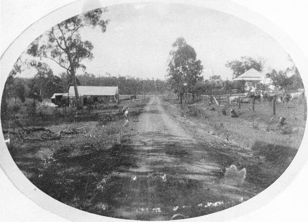Picture of / about 'Bethania' Queensland - Rural scene at Bethania, ca. 1914