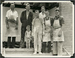 Picture of / about 'Mount Isa' Queensland - George Nixon and workmates, Mount Isa, 1937