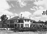 Picture relating to Adelaide Avenue - titled 'Prime Minister's Lodge, Adelaide Avenue, Deakin. Gardens now well developed.'