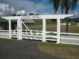 Picture relating to Rathdowney - titled 'Rathdowney memorial gates'