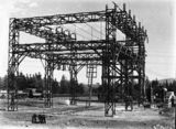 Picture relating to Kingston - titled 'Electrical transmission switch yard at Kingston Power Station'