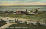 Picture relating to Southport - titled 'Kiosk and jetty at Southport, Queensland'