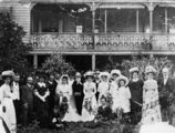 Picture relating to Rockhampton - titled 'Rockhampton wedding party and group photo, ca. 1906'