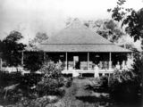 Picture relating to Canungra - titled 'Canungra residence, Sarah Vale, ca. 1880'