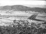 Picture relating to Ainslie - titled 'Haig Park, Northbourne Avenue and part of Ainslie from Mt Ainslie.'