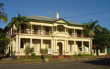 Picture relating to Cooktown - titled 'Old Bank Building, Charlotte Street, Cooktown'