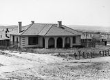 Picture relating to Parkes - titled 'Federal Capital Commission Cottage, Oakley and Parkes.'