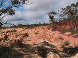 "Picture relating to Heathcote - titled 'Heathcote ""Pink Cliffs"" '"