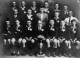 Picture relating to Milford - titled 'Milford Star Football Club, cup winners in 1928'