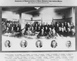 Picture relating to Sydney - titled 'Conference of representatives of the dairy industry from various States'