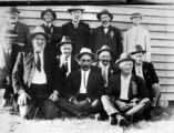 Picture relating to Kilcoy - titled 'Members of the St. Patrick's Day Sports Committee, Kilcoy, 1920'