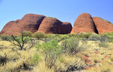 Picture relating to Kata Tjuta / Mount Olga - titled 'Kata Tjuta / Mount Olga'