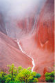 Picture relating to Uluru / Ayers Rock - titled 'Mist on Uluru'