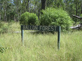 Picture relating to Ballon Forestry Station - titled 'Ballon Forestry Station - sign'