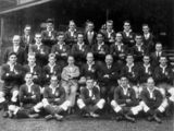 Picture relating to Sydney - titled 'Queensland Rugby League Team in Sydney, 1929'