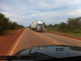 Picture of / about 'Roebuck Plains' Western Australia - Roebuck Plains Road Train