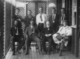 Picture relating to Eidsvold - titled 'Eidsvold Shire Council members, ca. 1908'