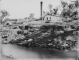 Picture relating to Warwick - titled 'Waterworks building on the Condamine River at Warwick'
