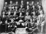 Picture relating to Maryborough - titled 'Junior Vics Football Club, Premiers 1904'