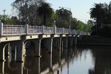 Picture relating to Benalla - titled 'Bridge over the Broken River'