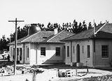 Picture relating to Mount Stromlo - titled 'Observatory and building, Mount Stromlo.'