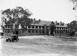 Picture relating to Deakin - titled 'St Gabriels Church of England Girls Grammar School, Melbourne Avenue, Deakin.'