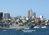 Picture relating to Sydney Harbour - titled 'Sydney Harbour Naval Centenary '