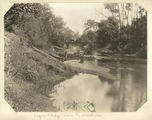 Picture relating to Tamrookum - titled 'Logan Bridge above Tamrookum, 1903'